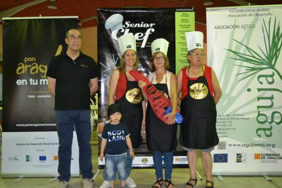 Ganadores SeniorChef Nogueruelas