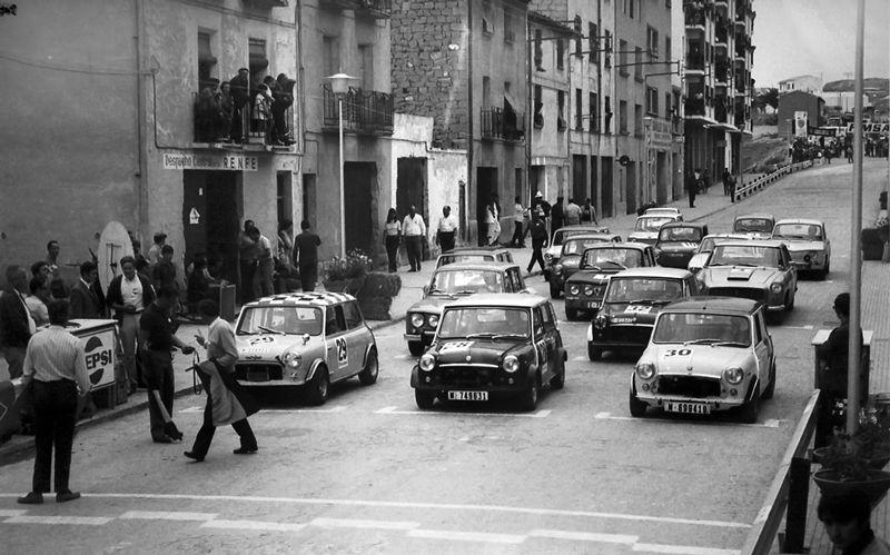 Antiguo Circuito Urbano Guadalope en Alcañiz