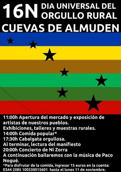 Día Universal del Orgullo Rural. Cuevas de Almuden @ Monreal del Campo | Aragón | España