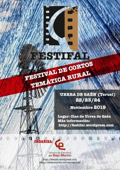 FESTIFAL. Festival de Cortos Urrea de Gaén @ Andorra | Aragón | España