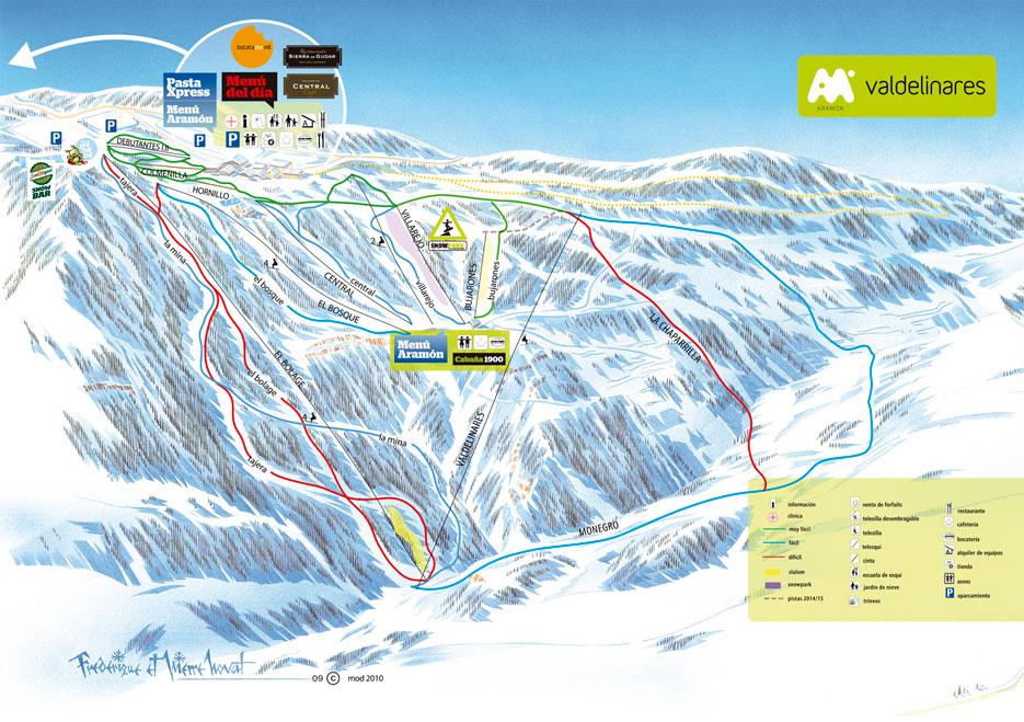 Esquiar en Teruel Aramon Valdelinares