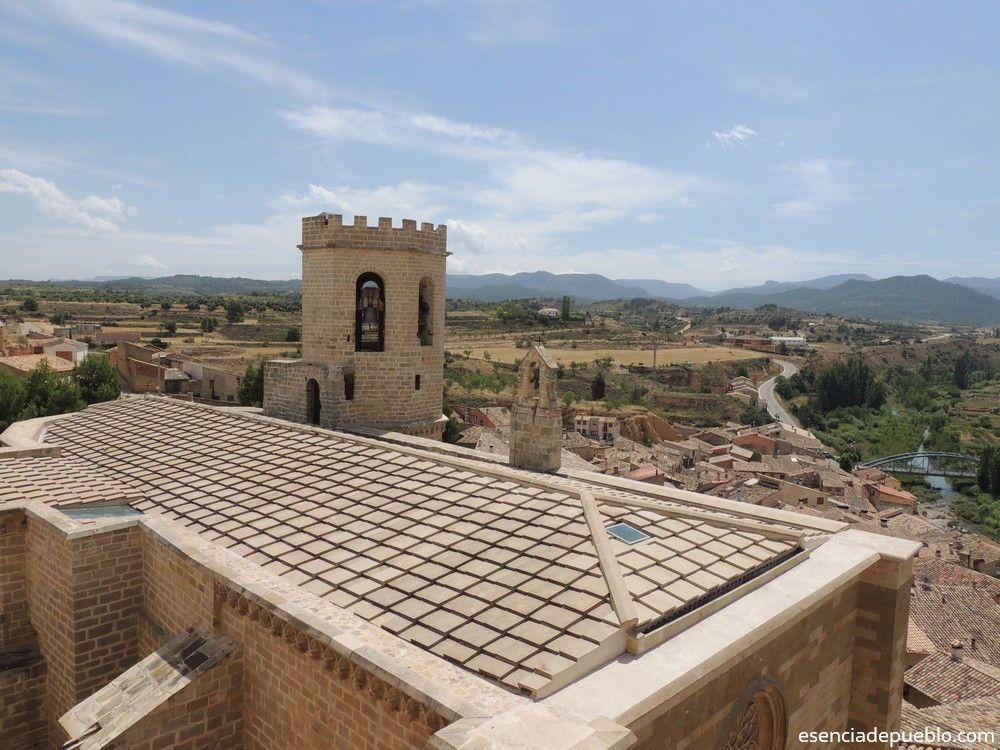 Vistas desde el Castillo de Vallderoures