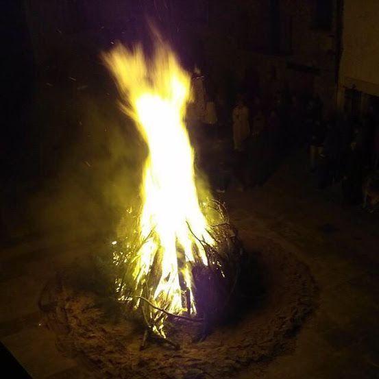 Fiestas de San Antonio Abad en la provincia de Teruel