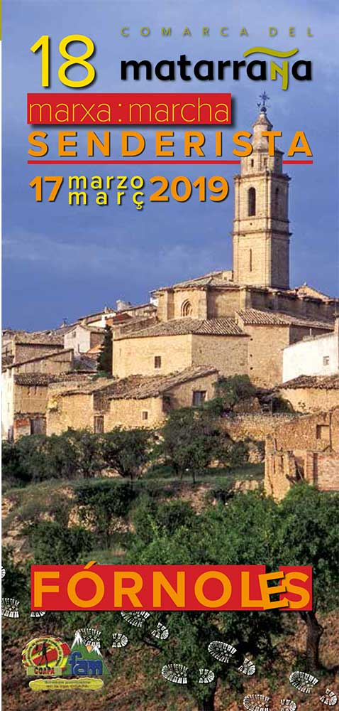 Marcha senderista del Matarraña 2019 fornoles