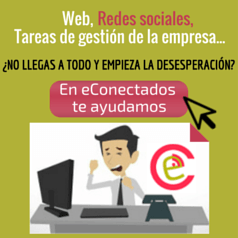 eConectados Social Media y páginas web
