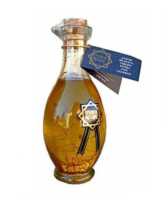 Comprar online Aceite de Oliva Virgen Extra gourmet con Azafrán de Azafranes Jiloca