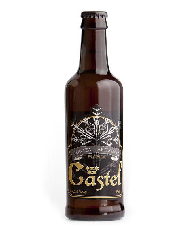 Cerveza artesanal Blonde Castel 33