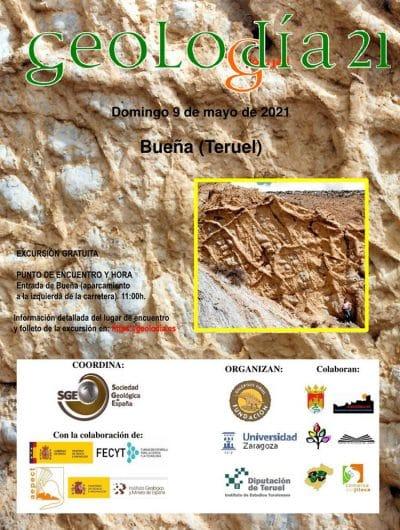 Geolodía 2021, en Bueña @ El Castellar | Aragón | España