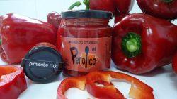 Mermelada artesanal de pimiento rojo el perolico