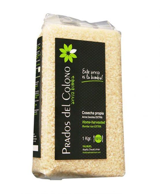 Arroz Bomba Prados del Colono, el único arroz producido en Teruel