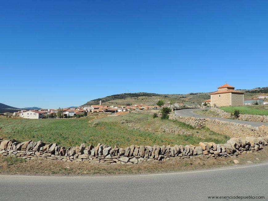 Vista de Mosqueruela (Teruel)