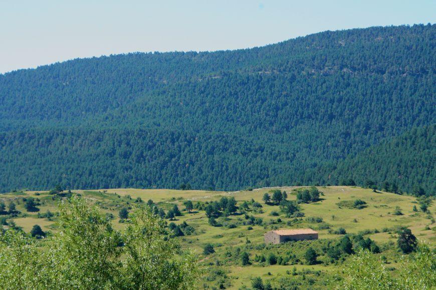 Paisaje en Valdelinares (Teruel)