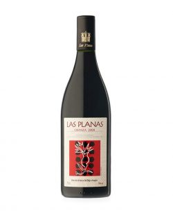 Vino tinto Crianza Las Planas 750 ml. Vino elaborado en Castellote (Teruel)