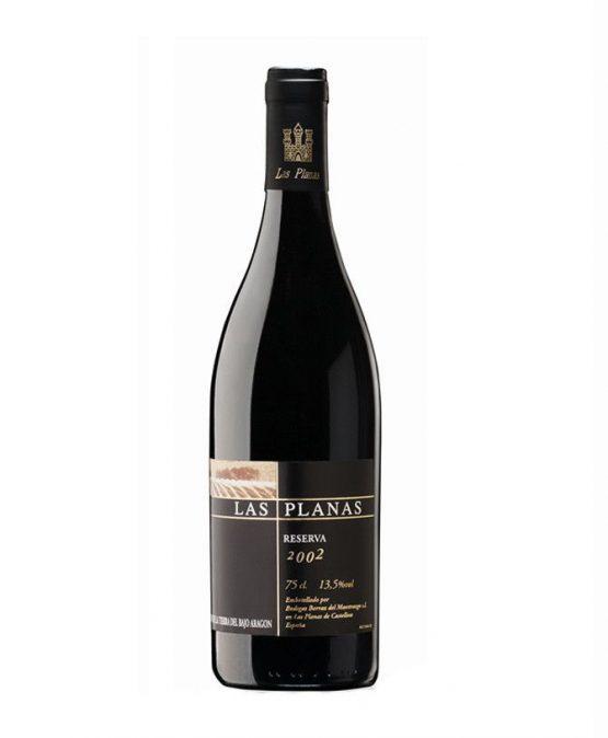 Vino Reserva Las Planas, elaborado en el Maestrazgo, Teruel y disponible en Esencia de Pueblo.