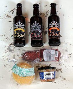 Pack aperitivo de verano pequeñico de productos artesanos de Esencia de Pueblo