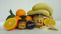 Mermelada artesana de naranja con platano