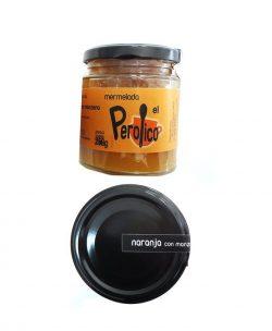 Mermelada de naranja dulce con manzana El Perolico