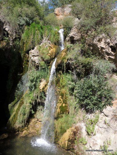 La Cascada Batida en Calomarde (Teruel)