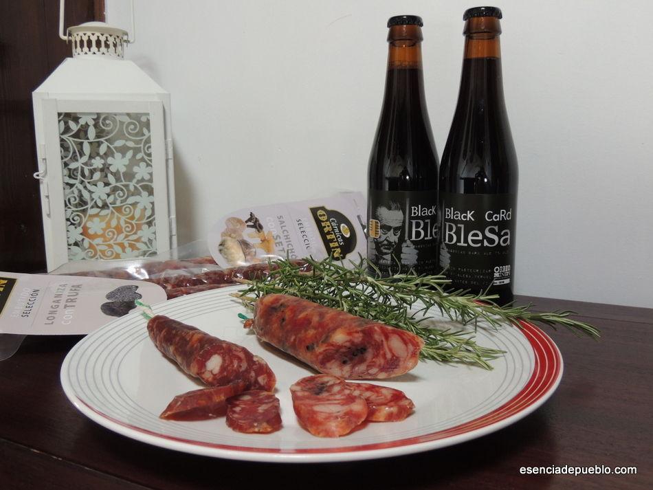 Comprar salchichón con trufa y setas de Teruel