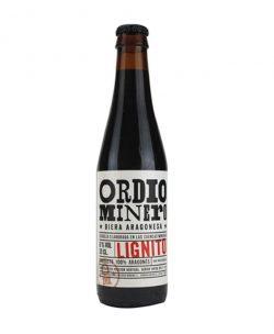 Comprar cerveza negra artesana Lignito de Ordio Minero