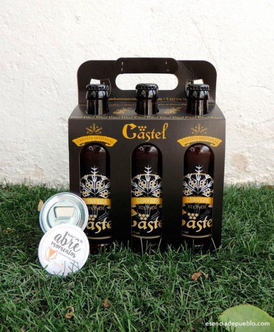 Comprar cerveza artesana blonde de Castel, el Pobo en Teruel
