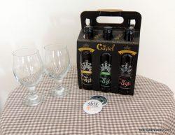 Pack de cerveza artesana Castel, el Pobo, Teruel