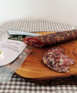 Comprar salchichón con pistachos Ortín