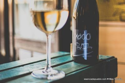 Vino blanco Xado del Matarraña, en Teruel