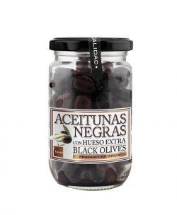 Comprar aceitunas negras del Bajo Aragón, de Conservas Calanda en Teruel