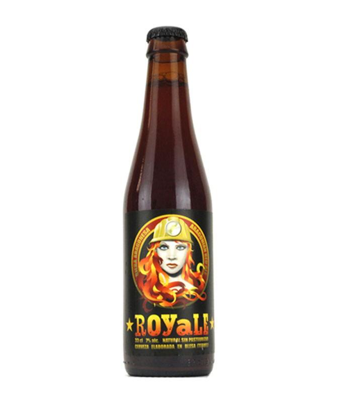Cerveza artesana Royale, de Ordio Minero