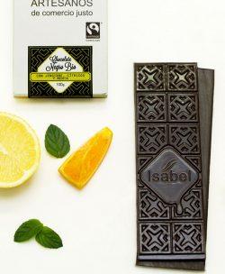 Comprar chocolate negro Isabel con jengibre, cítricos y menta