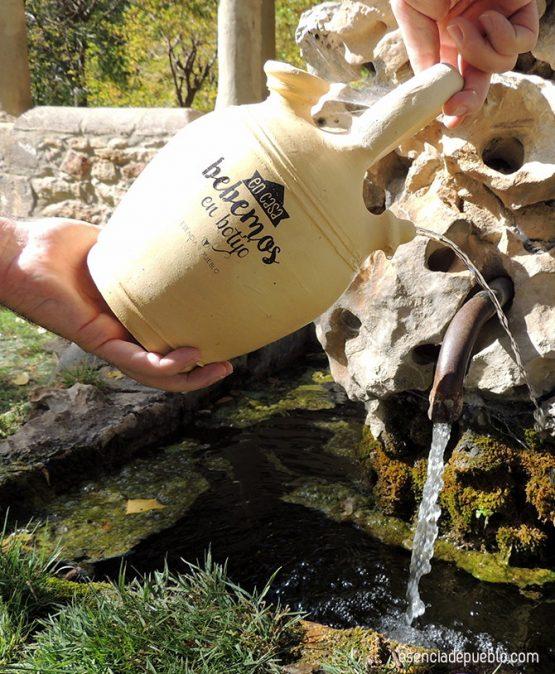 Comprar botijo de barro artesano para beber agua