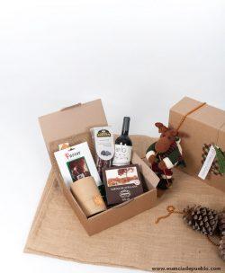 Lote de Navidad Pequeño gourmet para regalar