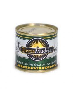 Mousse de foie gras de canard de Tierra Mudejar , en Teruel