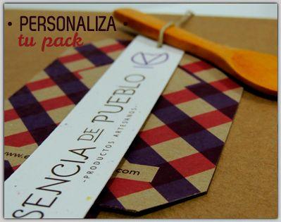 Pack gourmet y artesano personalizado para regalo