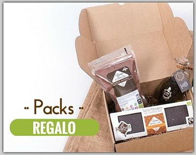 Packs regalo originales, de productos artesanos y gourmet, con mucho sabor