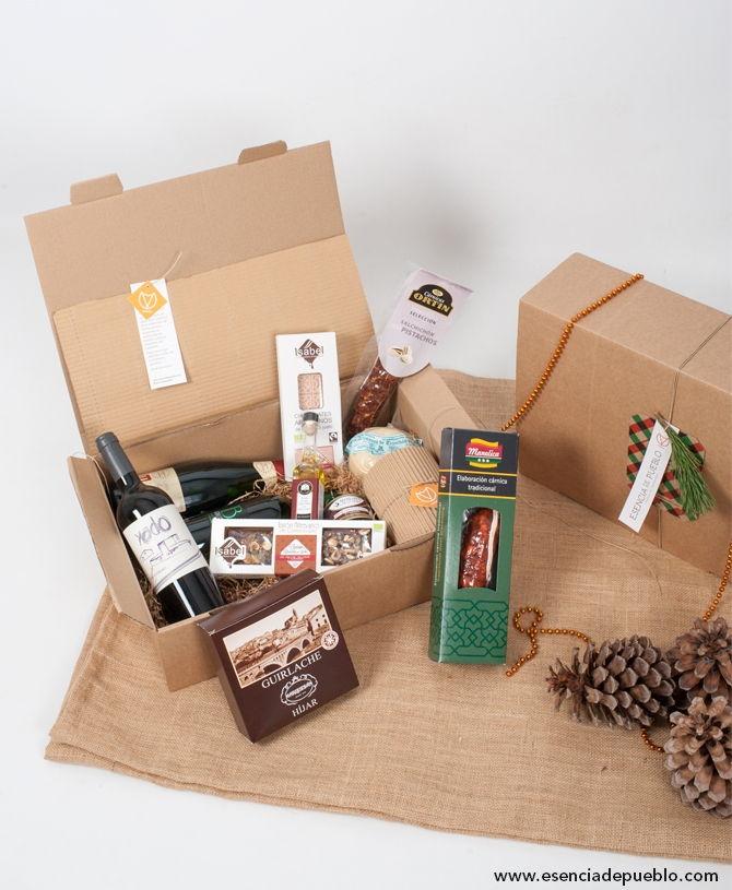 Regalar lote de navidad gourmet extra