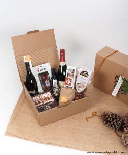 Cesta de Navidad gourmet para regalar