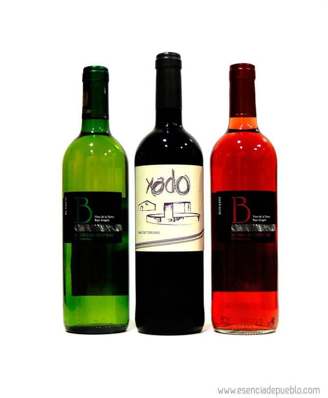 Lote de vinos de Teruel