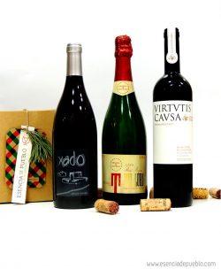 Lote de vinos y cava de Teruel para Navidad