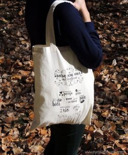 Bolsa de algodón para regalo