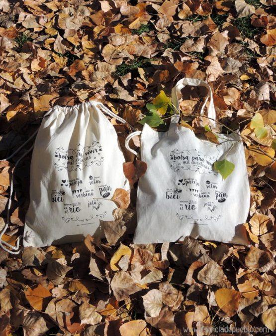 Bolsas de tela para regalos originales