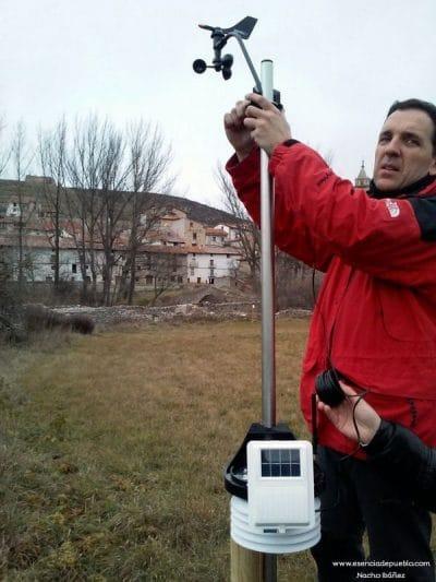 Instalación estaciones meteorológicas
