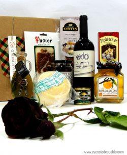 Pack gourmet Escapada Romántica