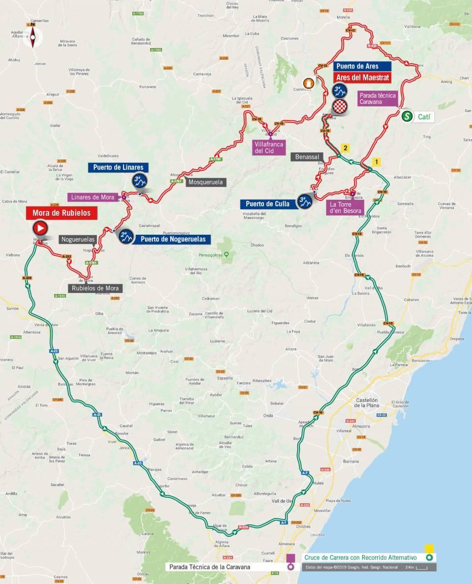 recorrido etapa 6 la vuelta 2019