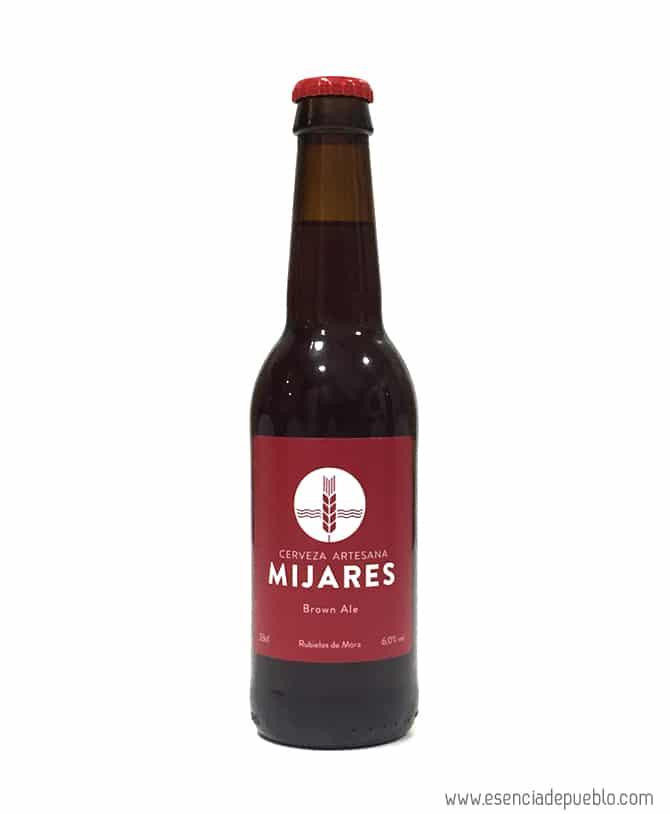 Cerveza artesana Mijares Brown Ale