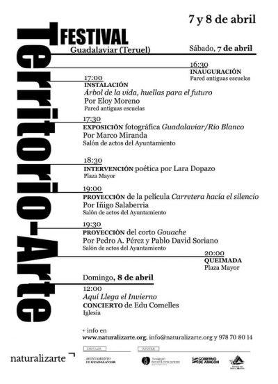 Festival Territorio-Arte, en Guadalaviar @ Guadalaviar | Aragón | España