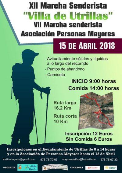 XII Marcha senderista Villa de Utrillas @ Utrillas | Aragón | España