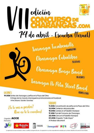 VII Concurso de Charangas.com de Escucha @ Escucha | Aragón | España