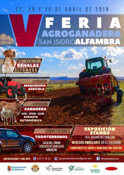 V Feria Agroganadera San Isidro, de Alfambra @ Alfambra | Aragón | España